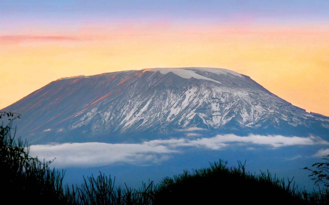 Mount Kilimanjaro and Meru